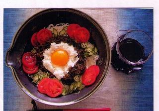 イトサン株式会社商品情報 - たっぷりもずくのつるつる麺 【第2回もずく料理コンテスト(入賞)】