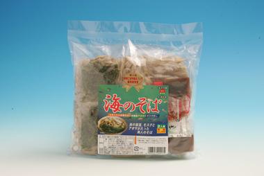 イトサン株式会社商品情報 - 海のそば(もずくそば2食入り)10袋セット