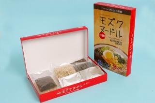 イトサン株式会社商品情報 - イトサンのがんじゅう海麺 モズクヌードル(3食入り) 5箱セット