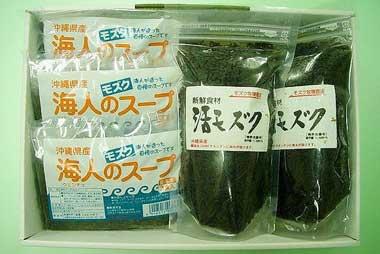イトサン株式会社商品情報 - 活モズク・モズクスープセット