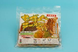 イトサン株式会社商品情報 - もずく&ラーメンW(ゴマ塩味)2食入